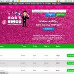 Bobs Bingo Ouvrir Un Compte