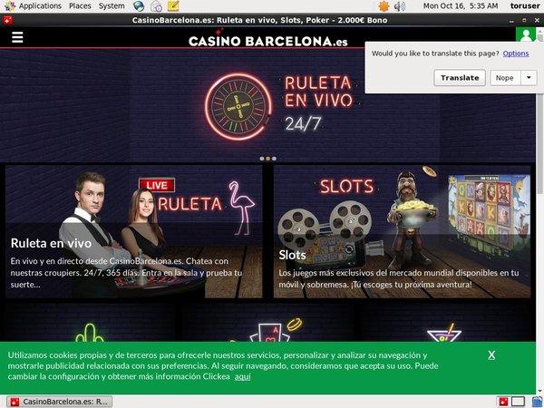 Casino Barcelona Bonus Code