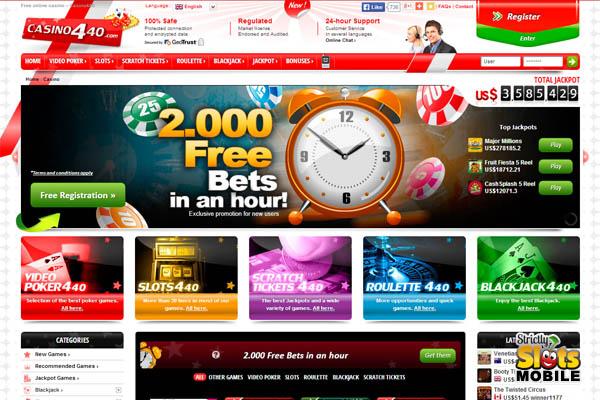 Casino440 Refer A Friend Bonus