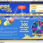 Empire Bingo Advert