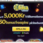 Fika Casino Spil Bonus