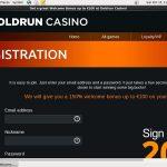 Gold Run Casino Matched Bet