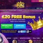 King Jackpot Login