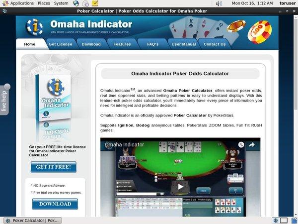 Omaha Indicator Bonuscode