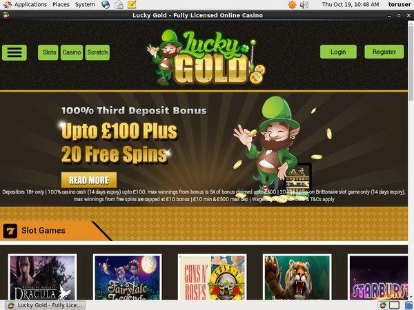 Play Slots Luckygold