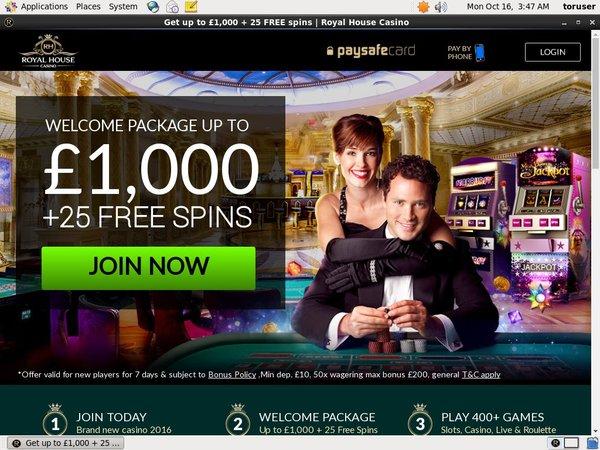 Royal House Casino Vip Customers
