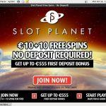 Slot Planet No Deposit Code