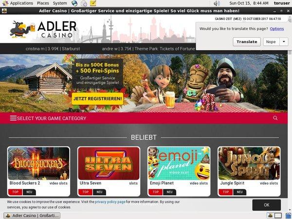 Adler Casino For Real