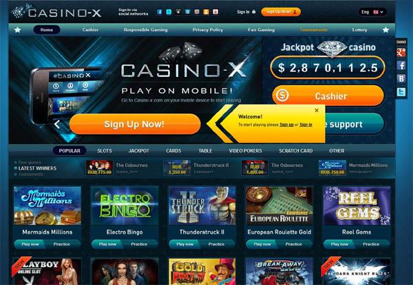 Casinox Casino Bonus Codes
