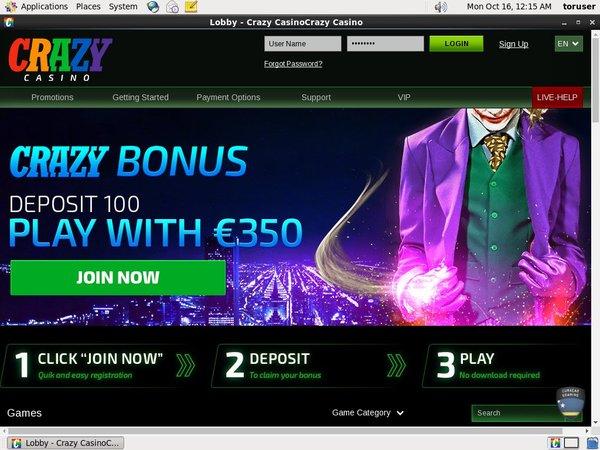 Crazycasino Paypal Bingo