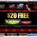 Superior Casino Deposit Bonus 2017