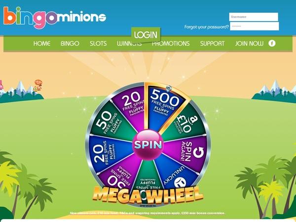 Bingo Minions Poker Rewards