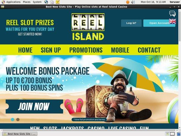 Reelisland Matching Bonus