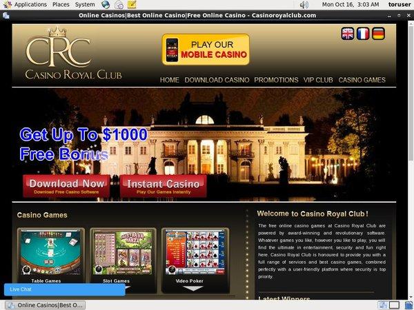 Casinoroyalclub Australia Dollars
