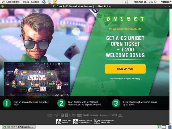 Unibet Poker Internet Casino