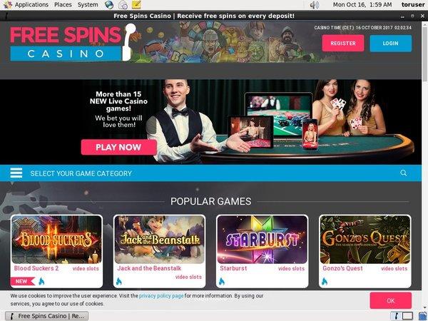Free Spins Casino Loyalty Program
