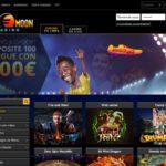Welcome Bonus Euro Moon Casino