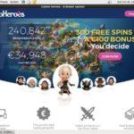 Casino Heroes Visa