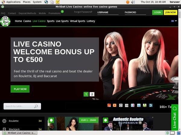 Mr X Bet Casino Deposit