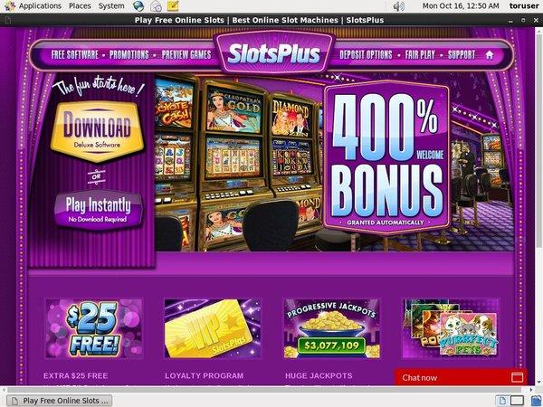 Slotsplus Jackpots