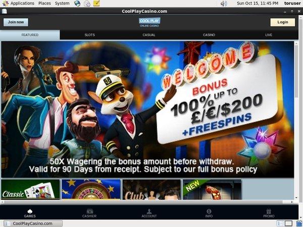 Cool Play Casino Top Picks