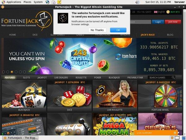 Fortunejack Top Online Casinos