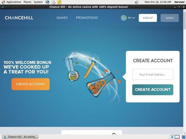 Chancehill Limited Bonus