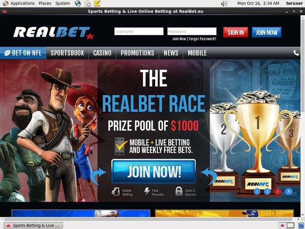 Real Bet Casino Login