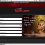 Super Gaminator Bonus Promotions