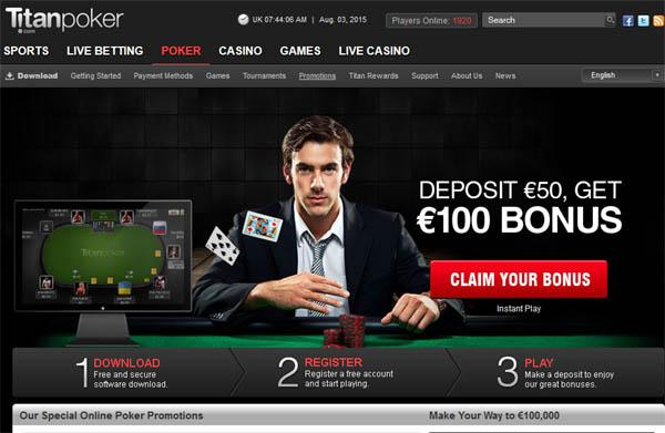 How To Bet Titan Poker