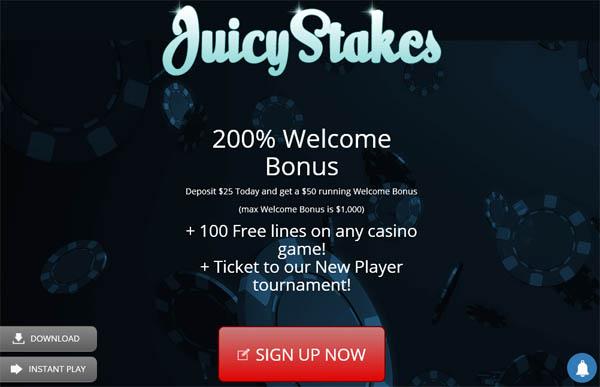 Juicy Stakes Bonus Offers