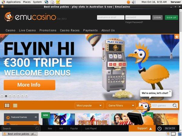 Mobile Emucasino Casino