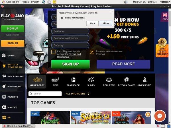 Play Amo Jackpot